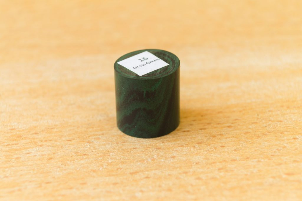 SEM Ebonite Marbled Grass Green 16 Fountain Pen
