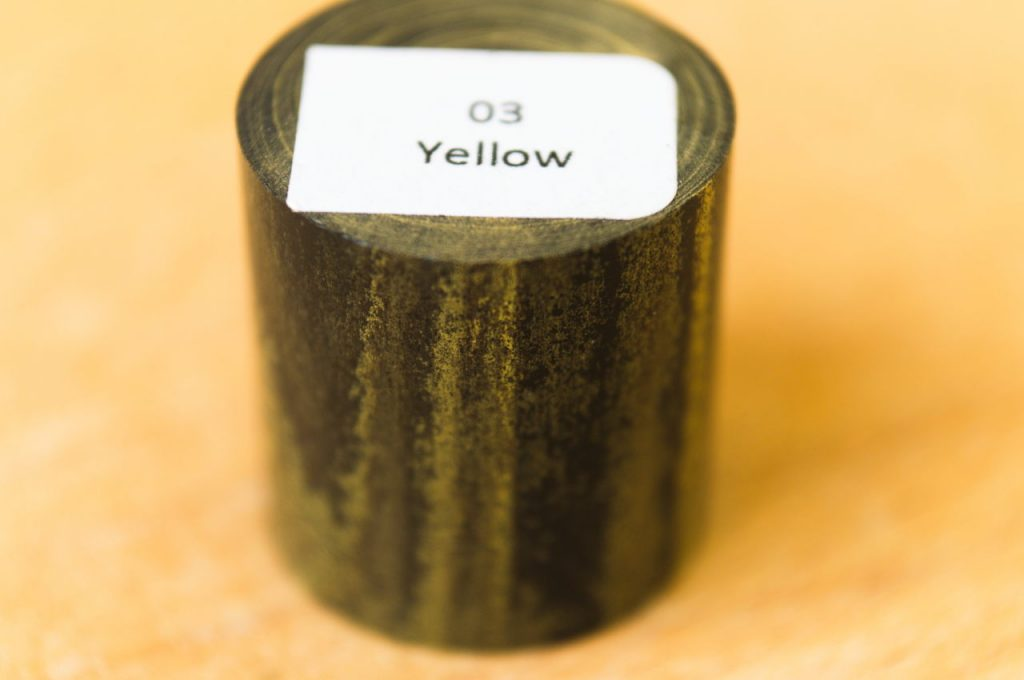 SEM Ebonite Marbled Yellow 03 Fountain Pen