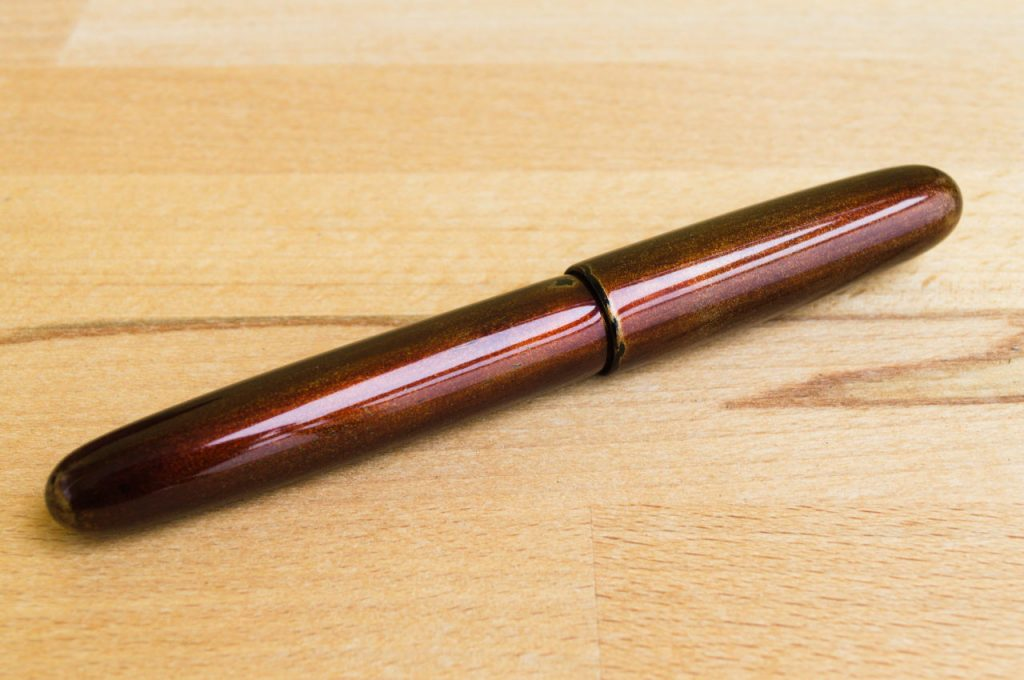 Bonita Bronze Urushi Fountain Pen Penteopens Handmade1