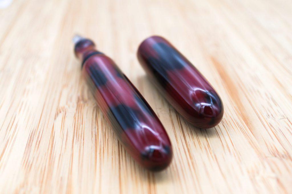 Bonita Negoro Urushi Fountain Pen For Sale8 Penteopens Handmade