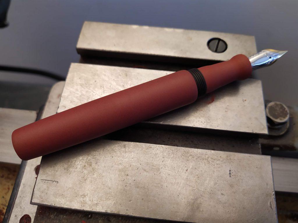 Penteo Samurai Spirit Red Ebonite 14