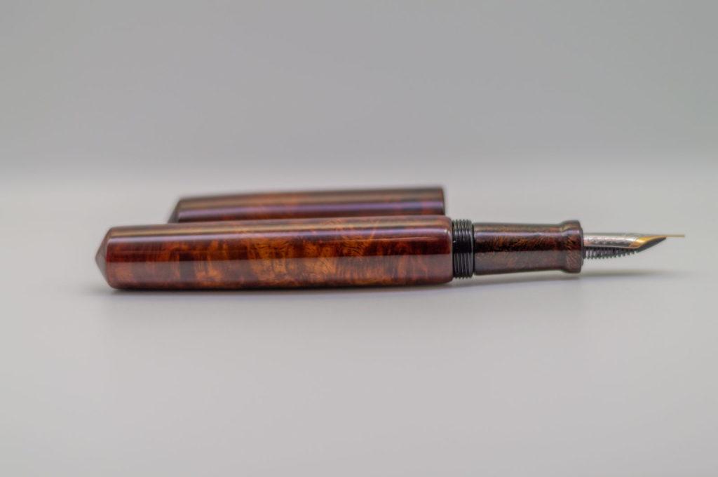 Penteo Samurai Wooden Spirit Amboyna Urushi8