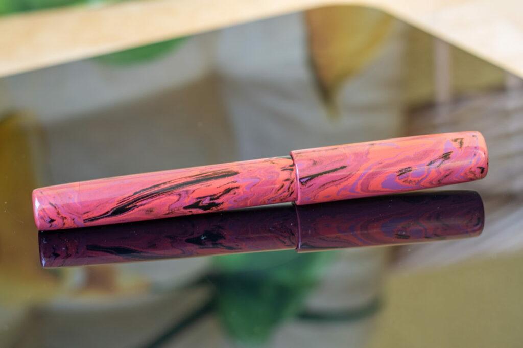 penteo samurai long sword lava button filler 2