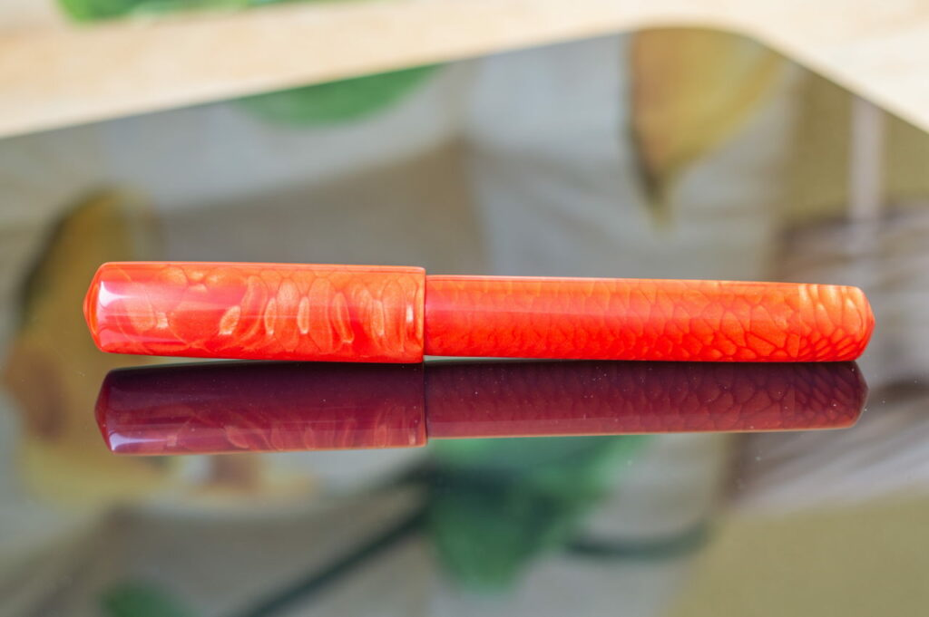 penteo samurai long sword red dragom button filler 1